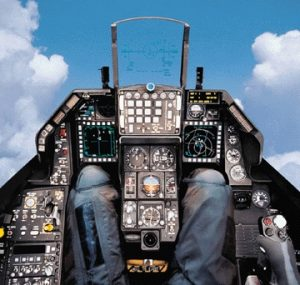 f-16 cockpit - let rep-logic be your navigator in aerospace sales & marketing